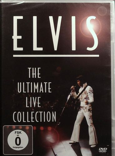 ELVIS - The Ultimate Live Collection - DVD American Legends