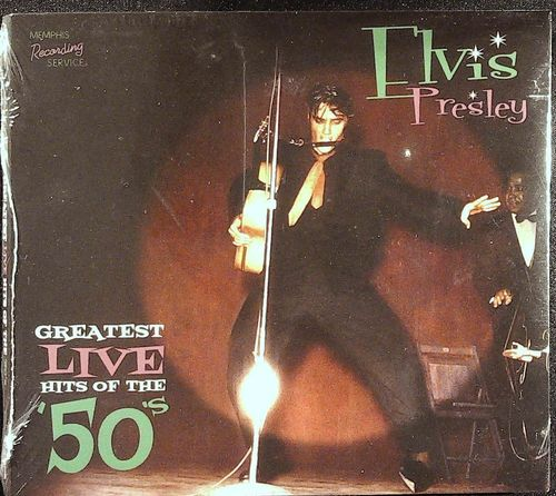 ELVIS - Greatest Live Hits Of The ´50´s - CD Memphis Recording Service