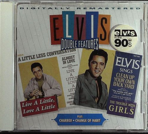 ELVIS - Double Features - Live A Little L.. / Charro / The Trouble With Girls / Change Of Habit - CD