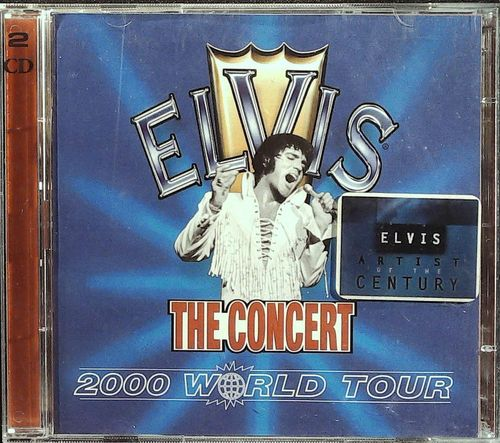 ELVIS - The Concert 2000 World Tour - 2 CD BMG