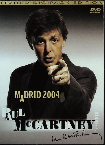 BEATLES - Paul McCartney - Madrid 2004 - DVD WOW