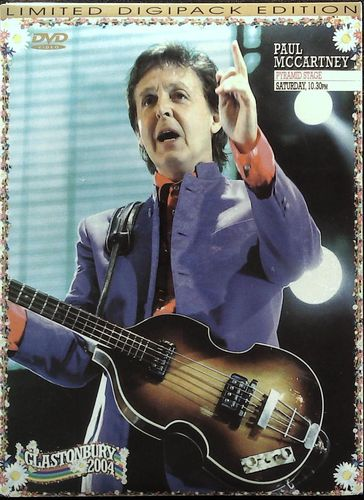 BEATLES - Paul McCartney - Glastonbury 2004 - Pyramid Stage Saturday 10.30 pm - DVD WOW