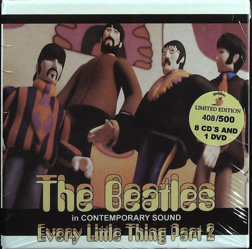 BEATLES - Every Little Thing Part 2 - In Contemporary Sound - 8 CD 1 DVD Rapple