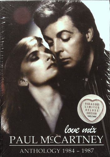 BEATLES - Paul McCartney - Love Mix - Anthology 1984 - 1987 - 9 CD & 5 DVD Wicked Emotion