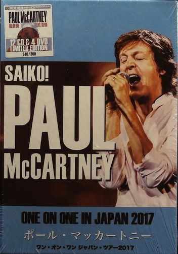 BEATLES - Paul McCartney - One On One In Japan 2017 Saiko! - 12 CD & 4 DVD Wicked Emotion