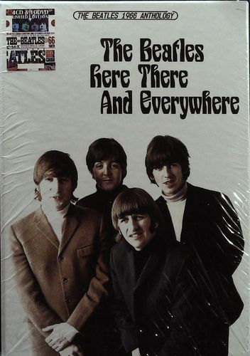 BEATLES - Here There And Everywhere - The Beatles 1966 Anthology - 4 CD 10 DVD Helping Hand