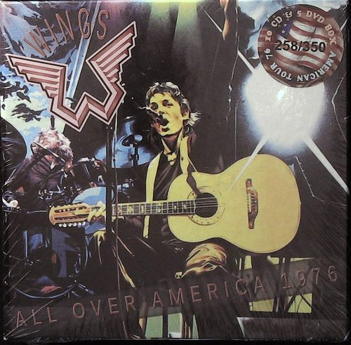 WINGS - Paul McCartney - All Over America 1976 - 10 CD & 5 DVD Wingspan