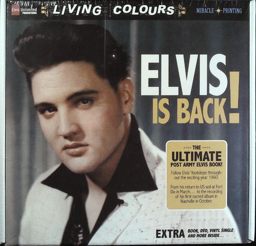 ELVIS - Elvis Is Back - The Ultimate Post Army Elvis Book - Buch / DVD / 45  - Elvis Unlimited