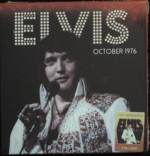 ELVIS - October 1976 - Chicago - Duluth - Sioux Falls - Minneapolis - Madison - S. Bend - 5 CD CRUEL